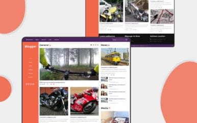 Blogger a Blogging Category Flat Bootstrap Responsive Web Template