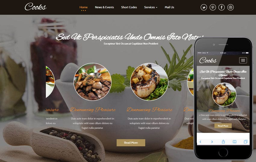 Cooks a Hotel Category Flat Bootstrap Responsive Web Template