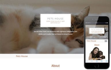 Pets House a Animal Category Flat Bootstrap Responsive  Web Template