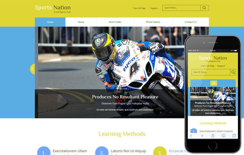 Sports Nation a Sports Category Flat Bootstrap Responsive Web Template
