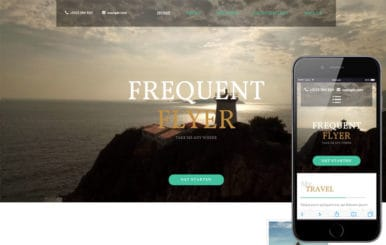 Frequent Flyer a Travel Category Flat Bootstrap Responsive Web Template