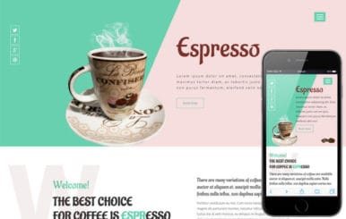 Espresso a Restaurant Category Flat Bootstrap Responsive web Template