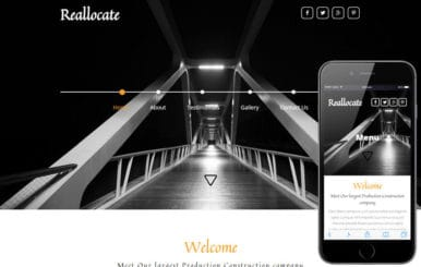 Reallocate a Real Estate Flat Bootstrap Responsive Web Template