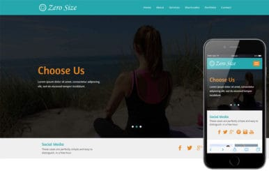 Zero Size a Sports Flat Bootstrap Responsive  Web Template