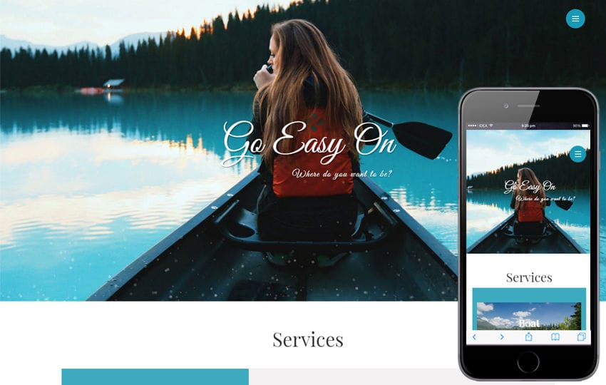 Go Easy On a Travel Category Bootstrap Responsive Web Template
