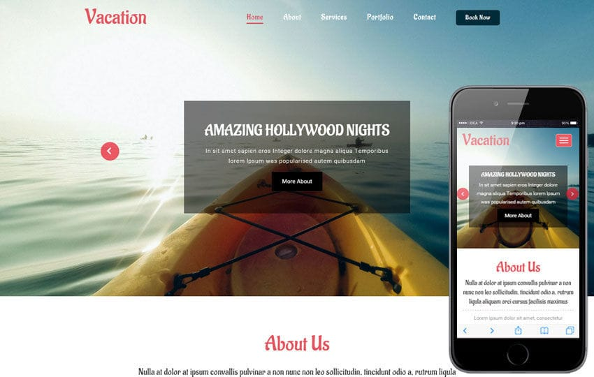 Vacation a Travel Category Flat Bootstrap Responsive Web Template