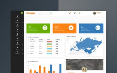 shoppy-eCommerce-admin-panel