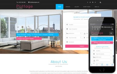 Plottage a Real Estate Flat Bootstrap Responsive Web Template