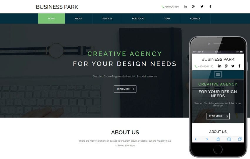 Business Park a corporate category Flat Bootstrap Responsive Web Template