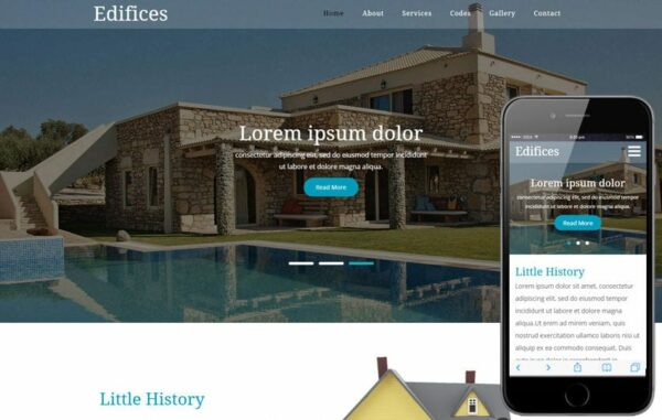 Edifices a Real Estates Category Flat Bootstrap Responsive Web Template