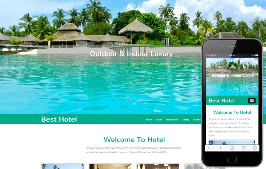 Best Hotel a  Travel Category Flat Bootstrap Responsive web Template