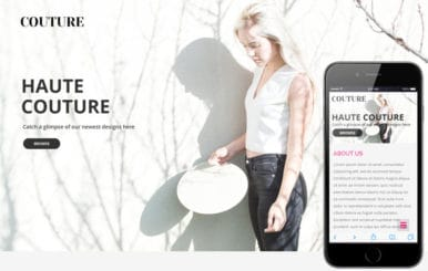 Couture a Fashion Category Flat Bootstrap Responsive Web Template