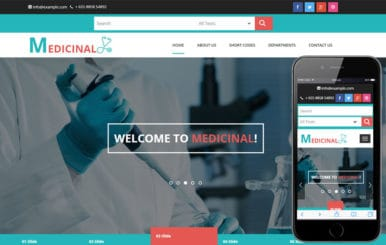 Medicinal a Medical Category Flat Bootstrap Responsive Web Template