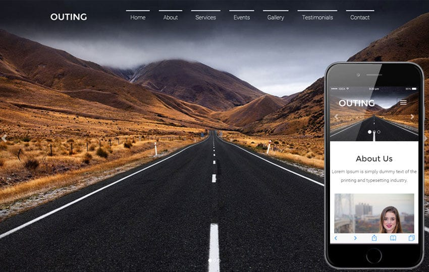 Outing Travel Category Flat Bootstrap Responsive  Web Template
