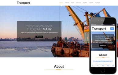 Transport a Industrial Category Flat Bootstrap Responsive Web Template