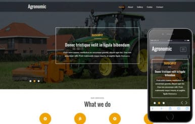 Agronomic a Agriculture Category Flat Bootstrap responsive Web Template