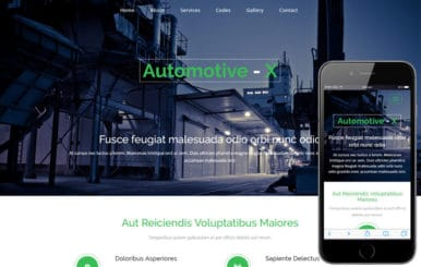 Automotive-x a Industrial Category Flat Bootstrap Responsive Web Template