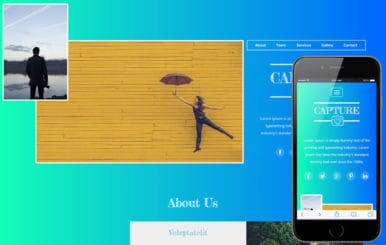 Capture a Photo Gallery Category Flat Bootstrap Responsive Web Template