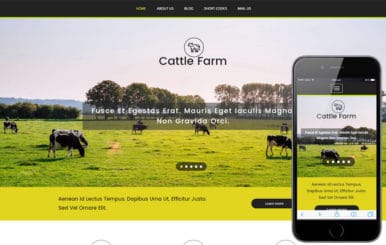 Cattle Farm an Agriculture Category Flat Bootstrap Responsive Web Template