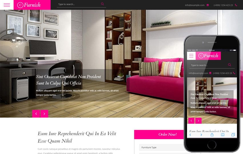 Classy Furnish a Furniture Category Flat Bootstrap Responsive Web Template