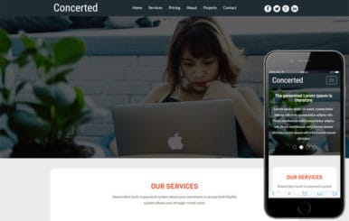 Concerted a Corporate Business Category Flat Bootstrap Responsive Web Template
