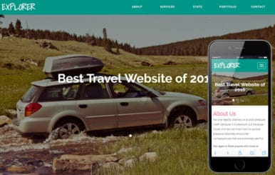 Explorer a Travel Category Flat Bootstrap Responsive Web Template