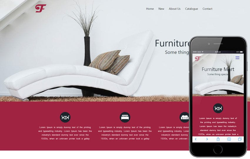 Furniture Mart A Furniture Category Flat Bootstrap Responsive Web Template