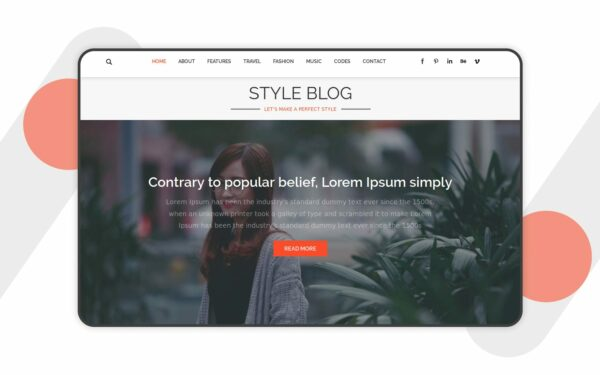style-blog-website-templates