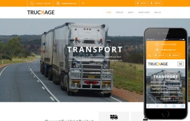Truckage A Transportation Category Flat Bootstrap Responsive Web Template