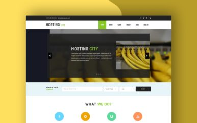 Hosting City a Hosting Category Bootstrap responsive Web Template
