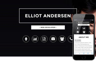 Opulent a Personal Category Bootstrap Responsive Web Template