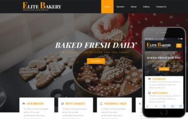 Elite Bakery a Hotel Category Bootstrap Responsive Web Template