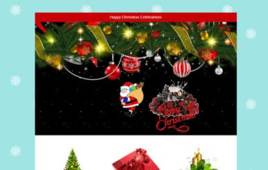 Happy Christmas a Newsletter Responsive Email Template