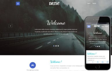 Drive a Travel Category Flat Bootstrap Responsive web Template