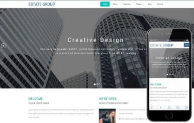 Estate Group a Real Estate Category Bootstrap Responsive Web Template