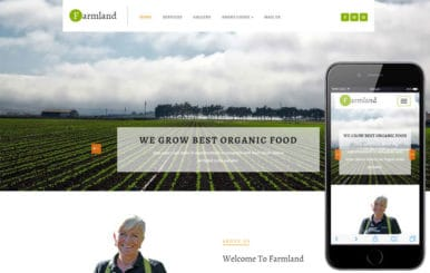 Farmland an Agriculture Category Flat Bootstrap Responsive Web Template