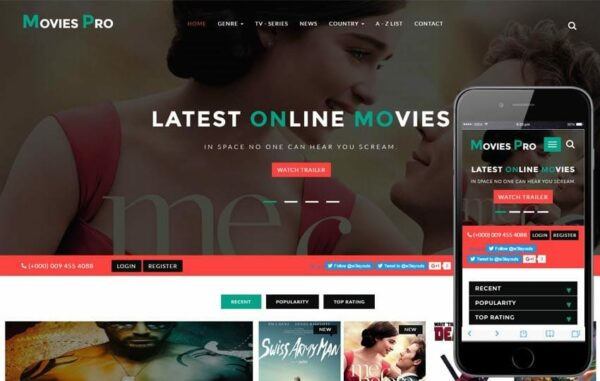 Movies Pro an Entertainment Flat Bootstrap Responsive WebTemplate