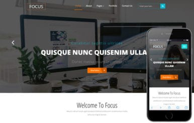 Focus a Corporate Category Flat Bootstrap Responsive Web Template