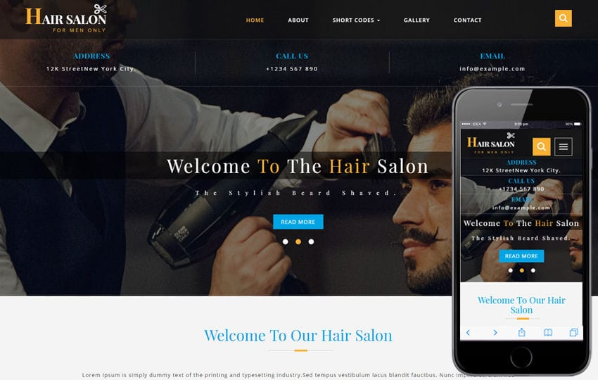 Hair Salon a Beauty and spa Flat Bootstrap Responsive Web Template
