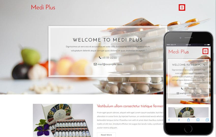 Medi Plus a Medical Category Flat Bootstrap Responsive Web Template