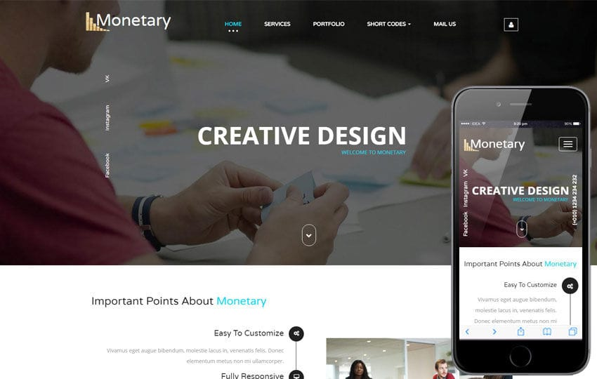 Monetary a Corporate Business Category Flat Bootstrap Responsive Web Template