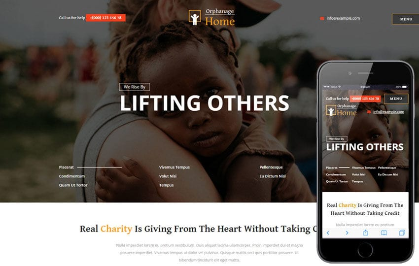 Orphanage Home a Society and People Category Bootstrap Responsive Web Template