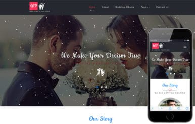 Wedding Proposer a Wedding Category Bootstrap Responsive Web Template