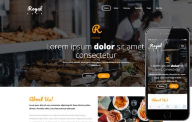Royal Food a Hotels and Restaurants  Bootstrap Responsive Web Template