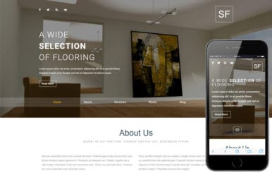 Space Furniture an Interior and Furniture Responsive Web Template