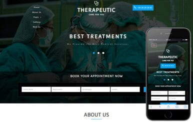 Therapeutic a Medical Category Flat Bootstrap Responsive Web Template