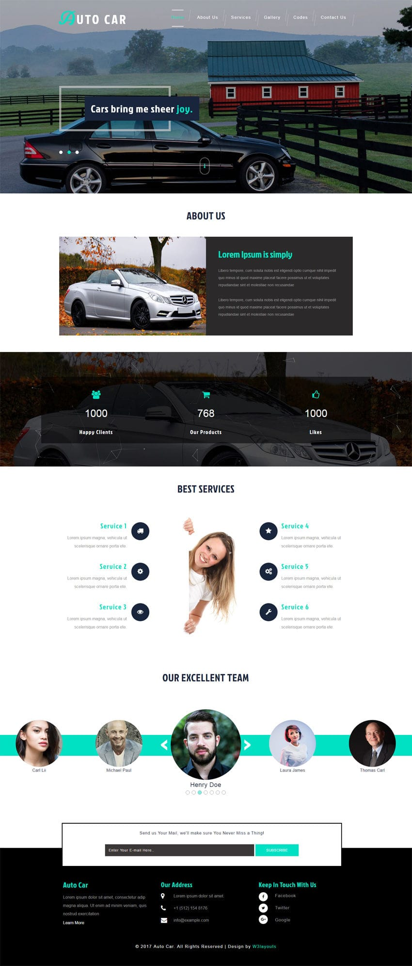 Auto Car is an Automobile Category Bootstrap Responsive Website Template. It is entirely built in Bootstrap framework, HTML5, CSS3 and Jquery.