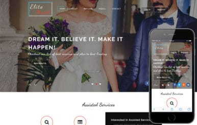 Elite Match a Matrimonial Category Bootstrap Responsive Web Template