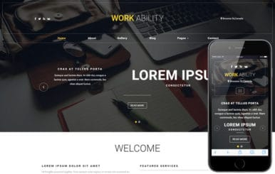Work Ability a Corporate Category Bootstrap Responsive Web Template