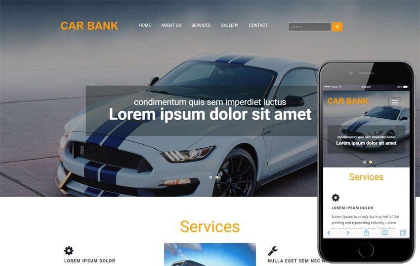 Car Bank an Automobile Category Bootstrap Responsive Web Template